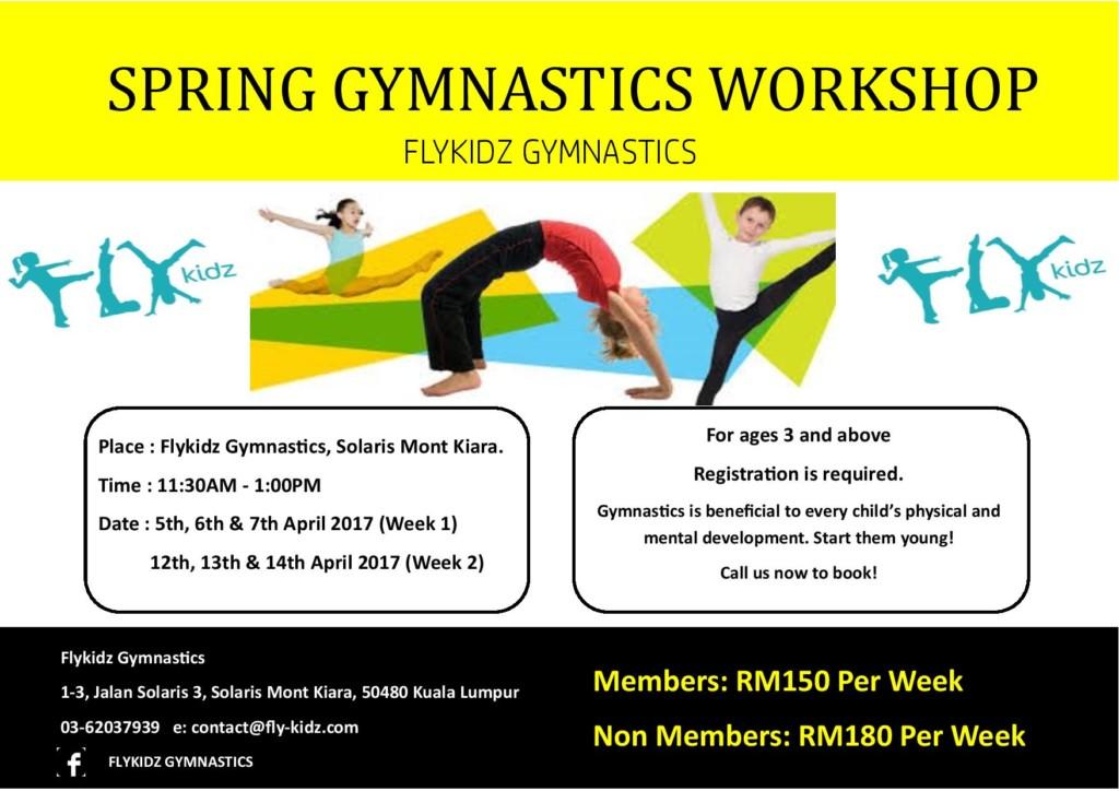 Spring Gymnastics Workshop 2017